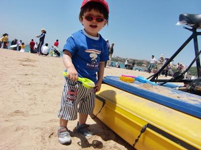 砂遊びー1