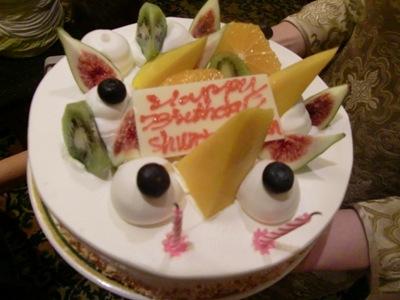 プラリネのケーキ