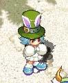 緑シルクウサ子