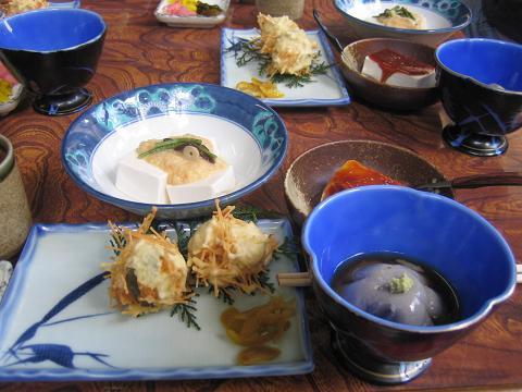 大山名物豆腐料理~