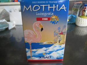サーレ・インテグラーレ・フィーノ「MOTHIA」イタリア、シシリー島の海塩・細粒塩1、SICILIA、SALE MARINO DI TRAPANI