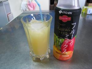 伊藤園「フルーツ・ミックス」100%ジュース・糖度11