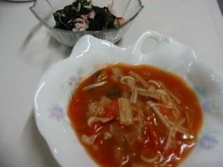 じゃが団子のトマトスープ