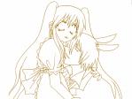 アリスと時計ウサギ……?