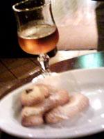 自家製クッキー&甘口ワイン