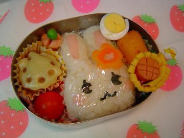 20080207うさちゃん弁当