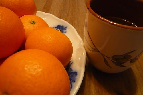 みかんと茶