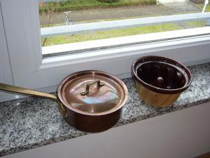 教会でゲット銅鍋