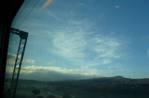 フィレンツェ途上 空