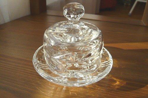 クリスタルガラス キャビアディッシュ