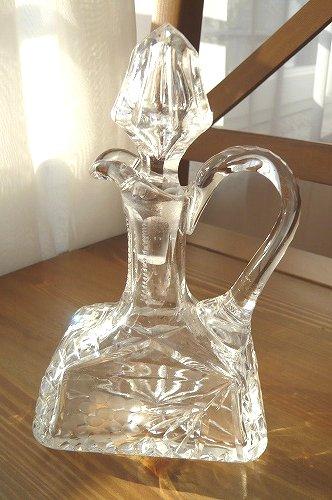 クリスタルガラス ソースポット