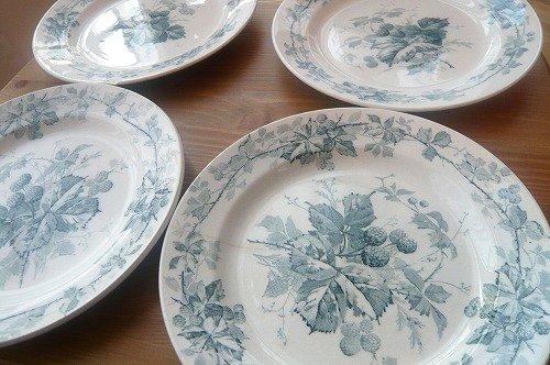 ビレロイ皿4枚