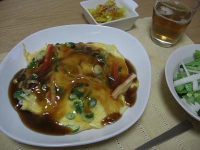 甘酢天津飯