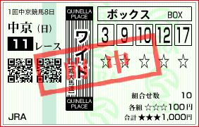 中京11R 高松宮記念