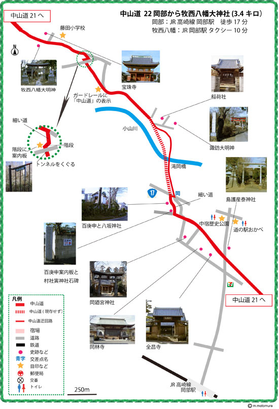 岡部ー牧西八幡大神社