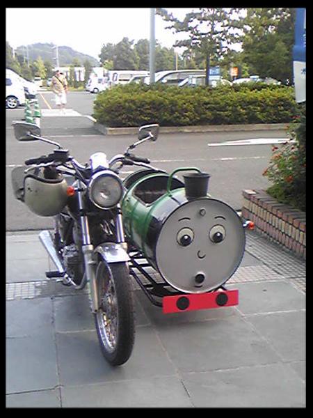 おもしろバイク