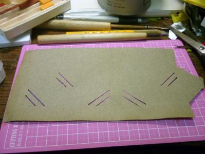 大正時代の絵葉書帳の紙