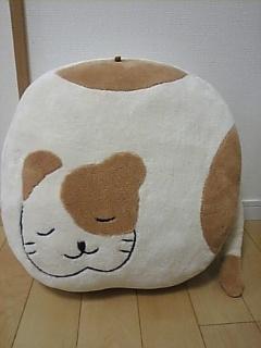 どうぶつクッション(猫)