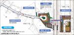 古賀市広報2008年6月号より鹿部駅(仮称)