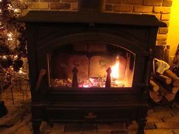 ダイニングの暖炉2