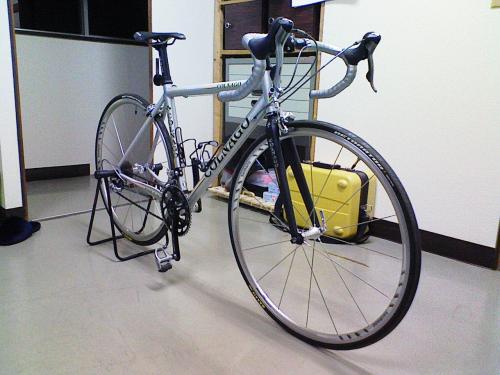 購入した自転車