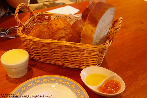 いろんなパンが食べ放題!