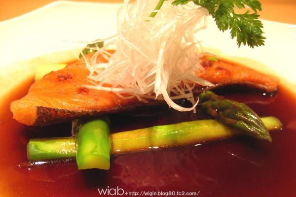 鮭のバルサミコソース★