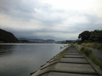川沿いのコース