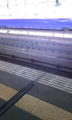 新幹線こないなー