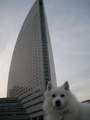 GICホテル前にて