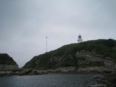 城ヶ島と観音崎の息子と云われる灯台