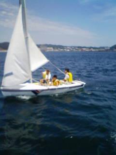8月16日ヨット教室