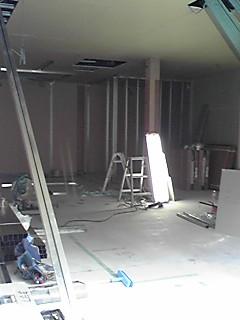 内装工事初期