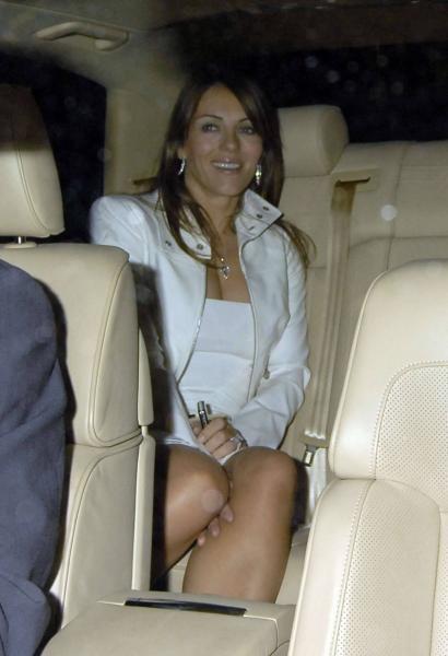 Elizabeth Hurley - Leaving Cipriani Restaurant 7