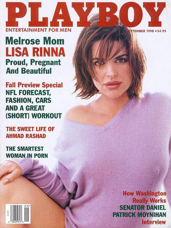 Lisa Rinna - Pregnant nude