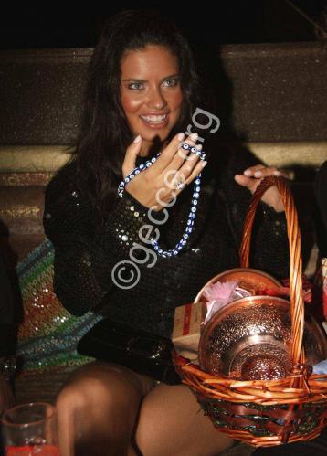 Adriana Lima - upskirt @ Nightclub Al Jamal Istanbul 01