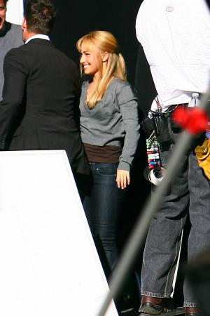 Hayden Panettiere - Thong Candids on the Set of Heroes xnews03
