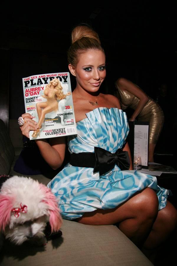 迫力のエロボディに興奮!オーブリー・オデイ(Aubrey O'Day)  - Playboy Issue Party