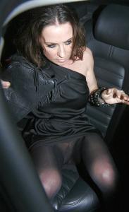 Noel Gallagher Ex-Wife Meg Mathew Upskirt