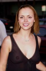 Christina Ricci - Outfest 2001 see-thru 01