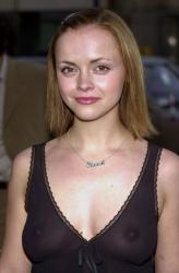 Christina Ricci - Outfest 2001 see-thru 02