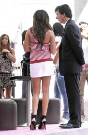 Ashley Tisdale Puerco Espin event upskirt 03