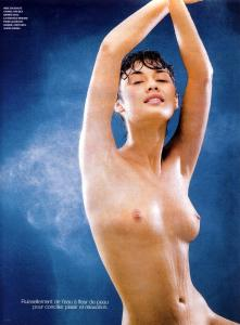 Olga Kurylenko Topless - French Marie Claire Magazine October 2003 c05