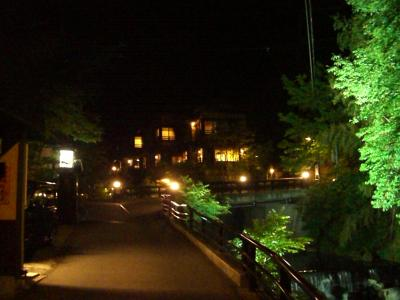 黒川温泉の夜