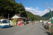 長谷村営バス乗り場