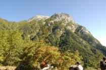 仙水峠からの甲斐駒ケ岳
