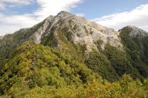 駒津峰からの甲斐駒ケ岳