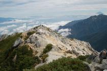 甲斐駒ケ岳山頂3