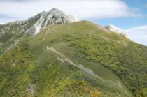 双児山からの甲斐駒ケ岳