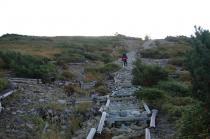 太郎平への登山道1